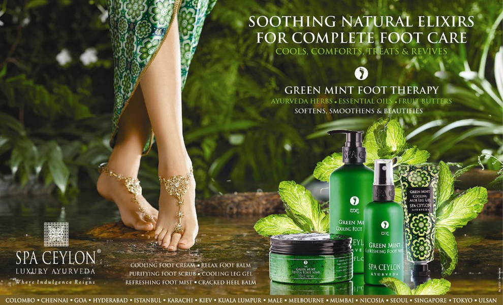 Green Mint Foot Therapy