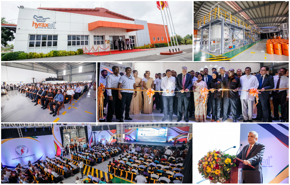 Hyrax Oil Sdn Bhd opens new Lubricant Blending Plant